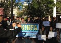 Protest against Bhim Rawal in Sydney
